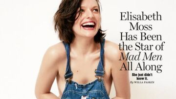 Elisabeth Moss topless pour New York Magazine