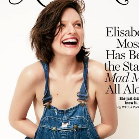 Elisabeth Moss topless pour New York Magazine