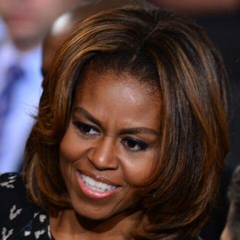 Michelle Obama: du soleil dans ses cheveux