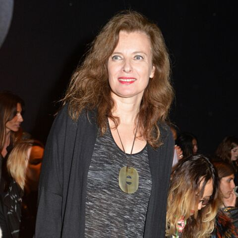 Fashion Week : Valérie Trierweiler casual chez Paul & Joe