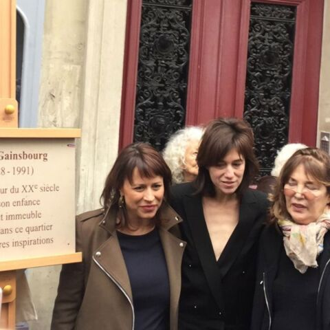 Jane Birkin et Charlotte Gainsbourg, unies en mémoire de Serge