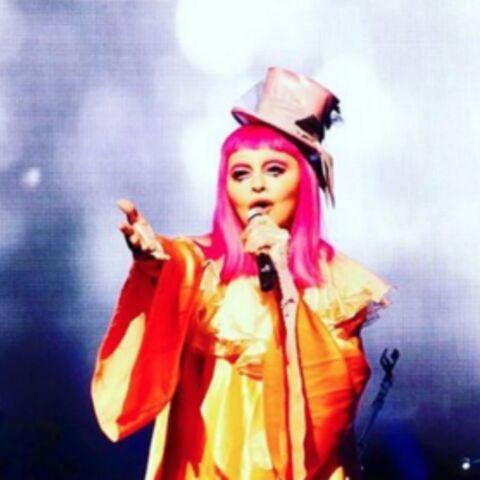 Madonna, les larmes du clown