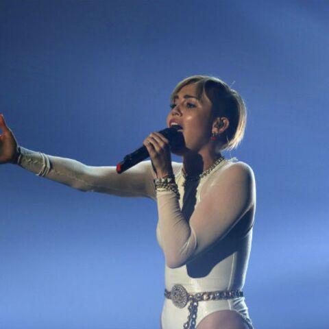 Miley Cyrus, le joint de la provoc' aux MTV EMA