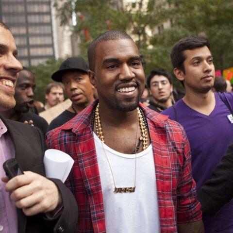 Kanye West s'invite chez les indignés