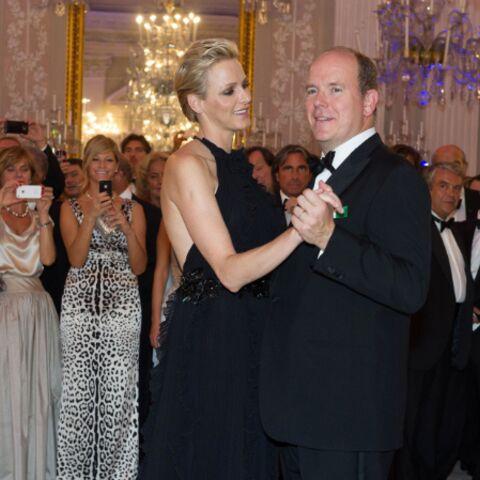 Charlène et Albert de Monaco ouvrent le bal à Florence