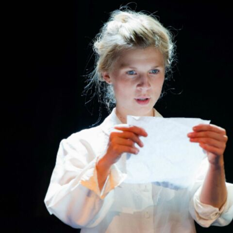 Clémence Poésy sur scène au théâtre