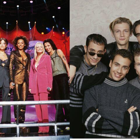 Les Backstreet Boys et les Spice Girls ensemble sur scène