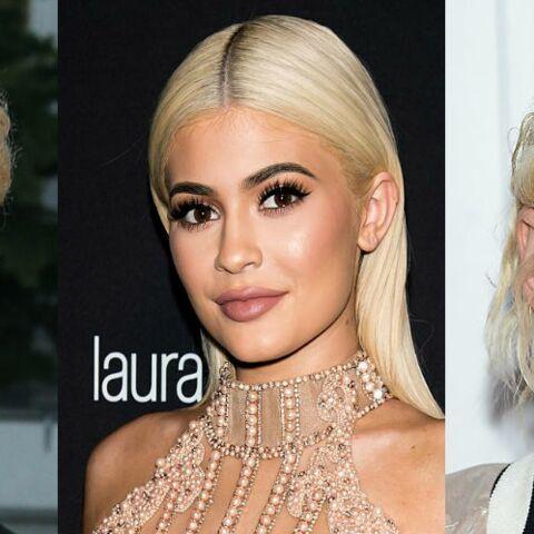 PHOTOS – Shy'm, Kylie Jenner et Kristen Stewart passent au blond