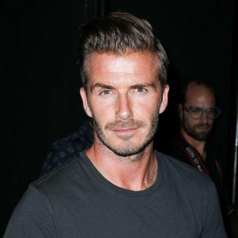David Beckham confie ses tatouages à ses enfants