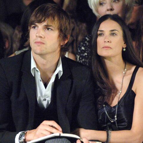 Demi Moore et Ashton Kutcher: de la réconciliation dans l'air