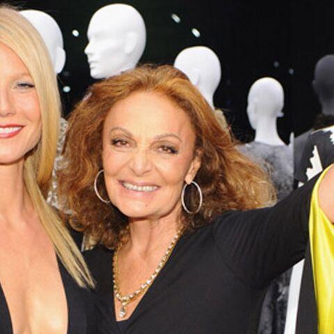 Gwyneth Paltrow pour Diane Von Furstenberg