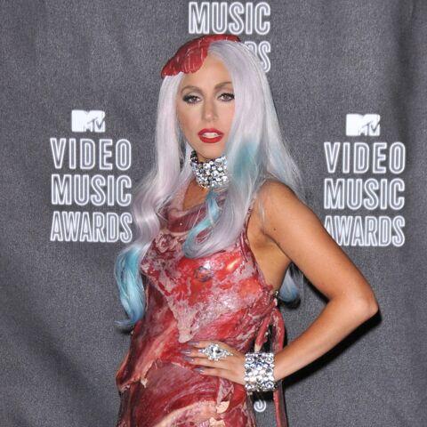 La robe en viande de Lady Gaga entre au musée du rock