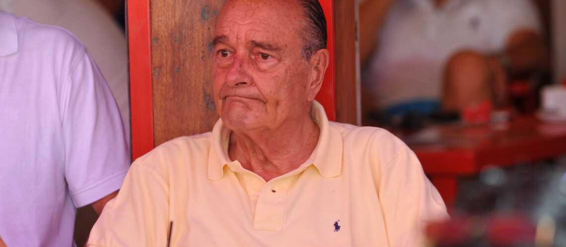 Jacques Chirac: repos à Saint-Tropez