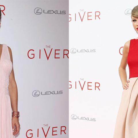 Taylor Swift et Katie Holmes, romantiques chics sur le tapis rouge