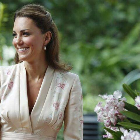 Kate Middleton élue icône de mode