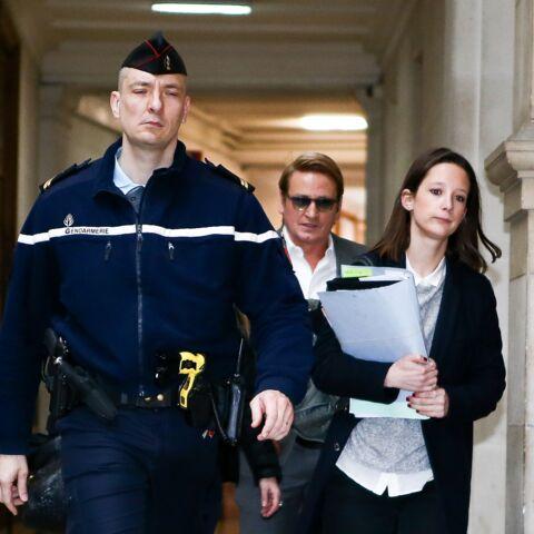 Benoît Magimel: son arrivée au tribunal de Paris