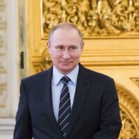 Les hommes politiques Masque Poutine pour homme Tons Chair larve Russe le président de la Russie