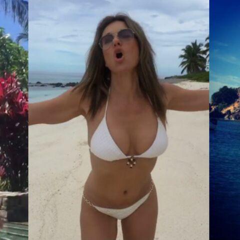 PHOTOS – Sharon Stone, Liz Hurley, Estelle Lefébure… 50 ans et très sexy en bikini