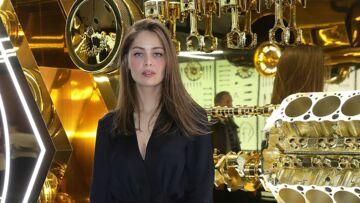 La folle soirée Cartier dans un garage milanais avec Marie-Ange Casta