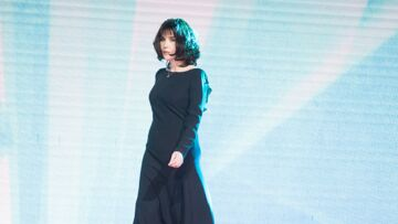PHOTOS – Isabelle Adjani, très élégante en longue robe noire à Marrakech