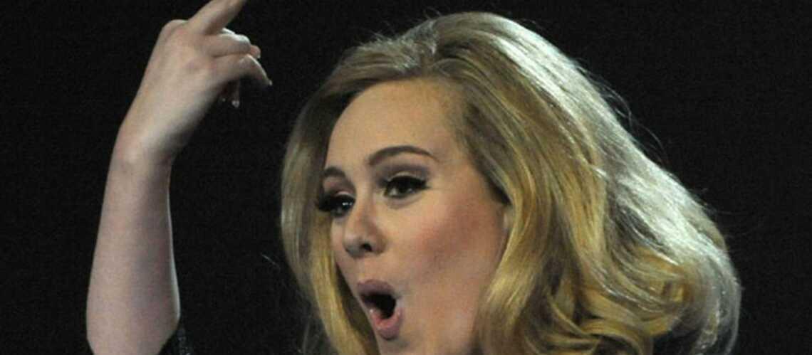 Adele fâchée contre Chris Brown