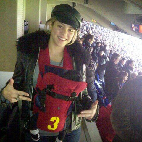Shakira: première sortie au stade avec son fils Milan