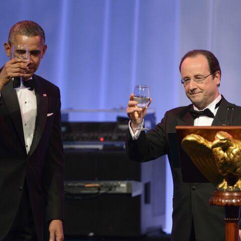 Une réception hollywoodienne en l'honneur de François Hollande