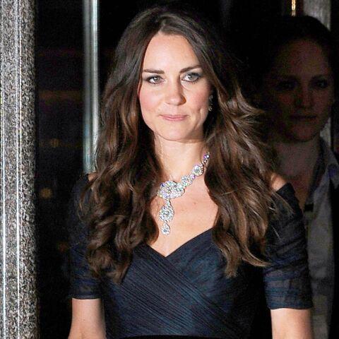 Première apparition officielle de Kate Middleton en 2014