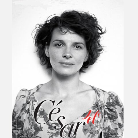 Juliette Binoche sublime sur l'affiche des César 2016