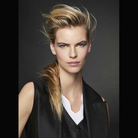 Make-up: Un regard en or chez Dior
