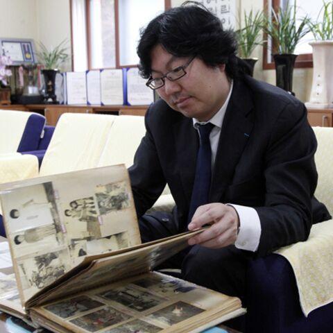 Photos- Jean-Vincent Placé, sur les traces de son enfance en Corée