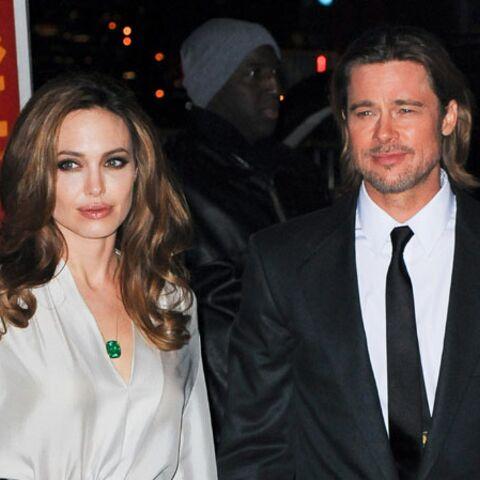 Angelina Jolie et Brad Pitt chez Barack Obama