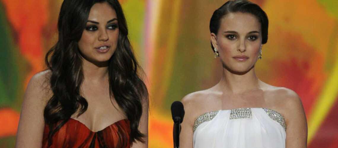 Natalie Portman et Mila Kunis réunies pour les Golden Globes