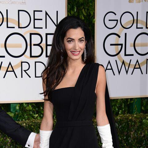 Amal Alamuddin, ses premiers pas aux Golden Globes