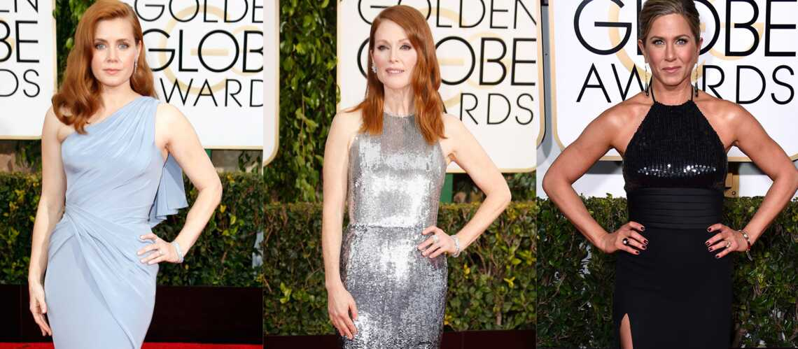 Julianne Moore, Jennifer Aniston, Amy Adams… Le tapis rouge des Golden Globes