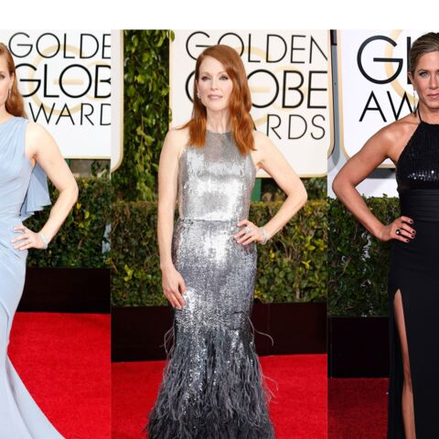 Julianne Moore, Jennifer Aniston, Amy Adams… Le tapis rouge des Golden Globes