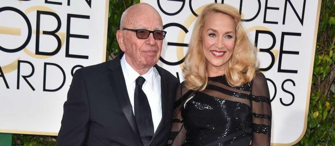 Jerry Hall et Rupert Murdoch vont se marier
