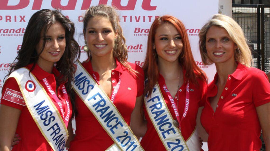 Vidéo- Trois Miss France pour le super combatif Bernard Hinault