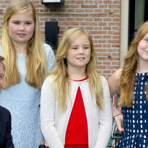 Maxima des Pays-Bas, souriante malgré son accident