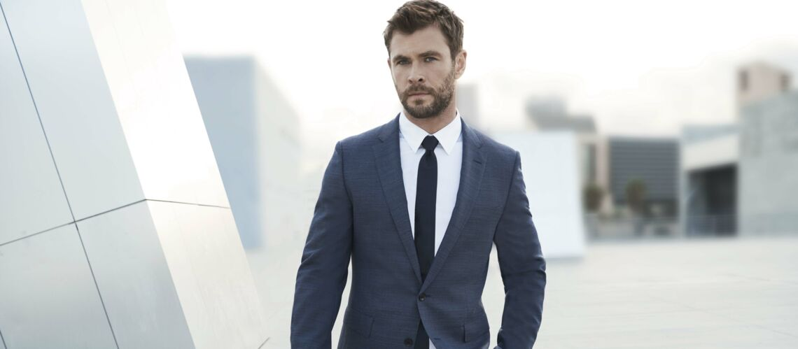 Chris Hemsworth devient ambas­sa­deur Boss Bottled pour Hugo Boss