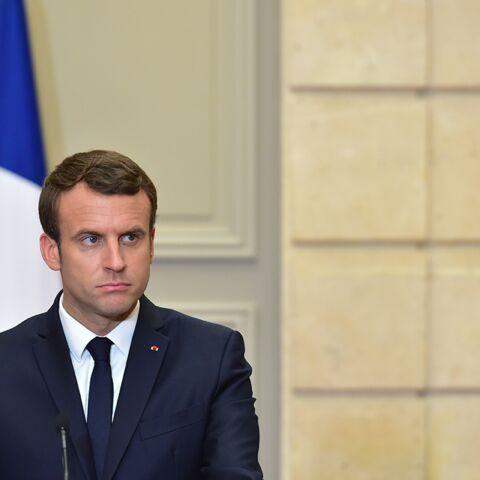 PHOTOS – Emmanuel Macron pointé du doigt parce qu'il est allé voter en Falcon