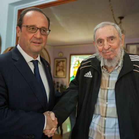 François Hollande: rencontre historique avec Fidel Castro