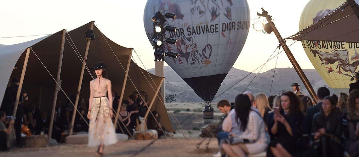 Dior à la conquête de l'Ouest pour son défilé croisière 2018