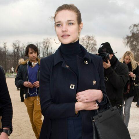 Natalia Vodianova en pince pour Pauline