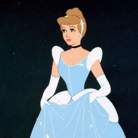 Dans la robe de Cendrillon version 2013