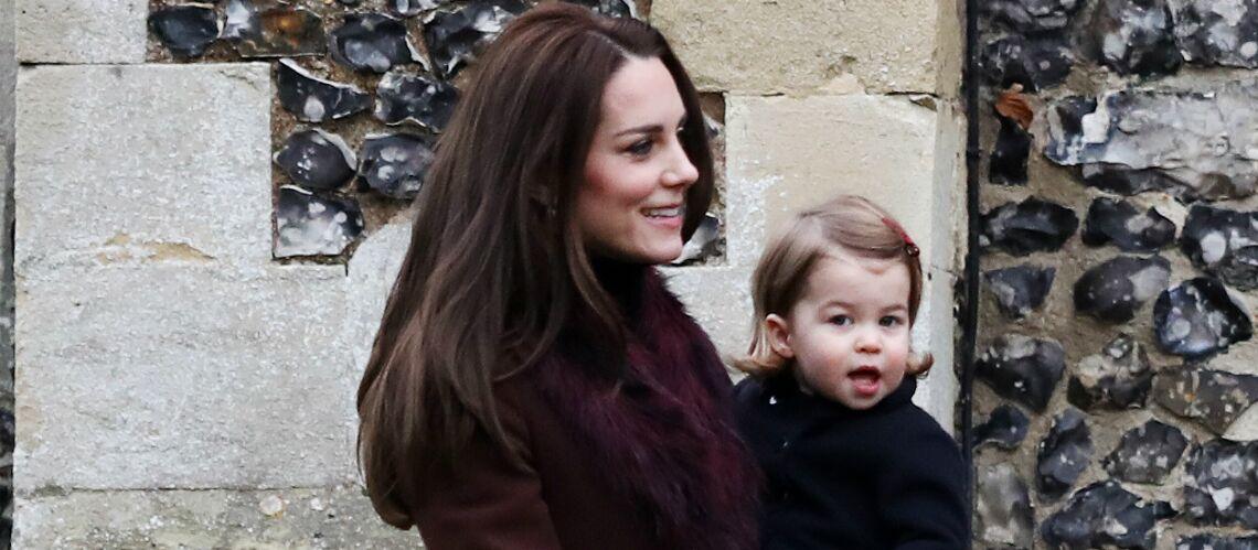 Kate Middleton: A la maison, c'est Charlotte qui «commande»