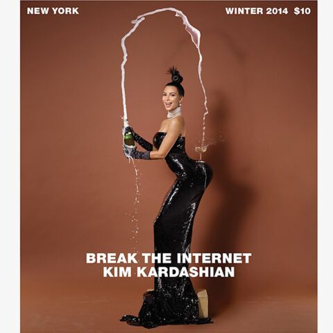 Kim Kardashian, nue, par Jean-Paul Goude