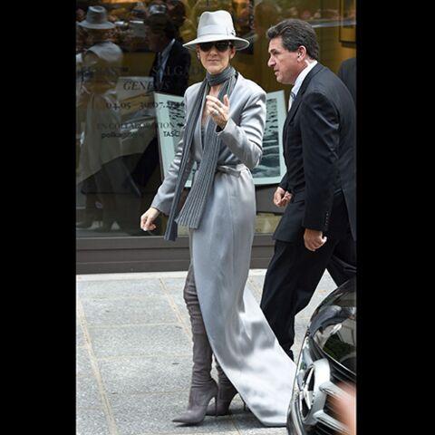 TENDANCE – Céline Dion, Kim Kardashian, Madonna… Cuissardes aux pieds
