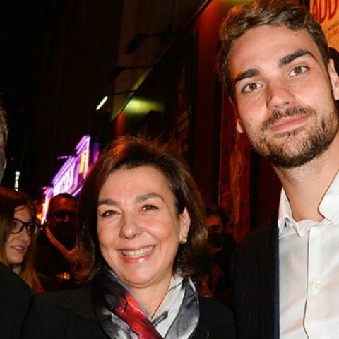 PHOTOS – Yves Montand revit sous les yeux de sa veuve et de son fils
