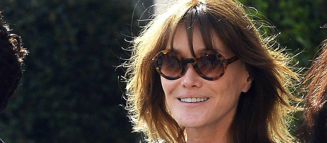 PHOTOS – Carla Bruni révèle pourquoi elle n'a pas assisté au mariage d'Olivier Sarkozy et Marie-Kate Olsen